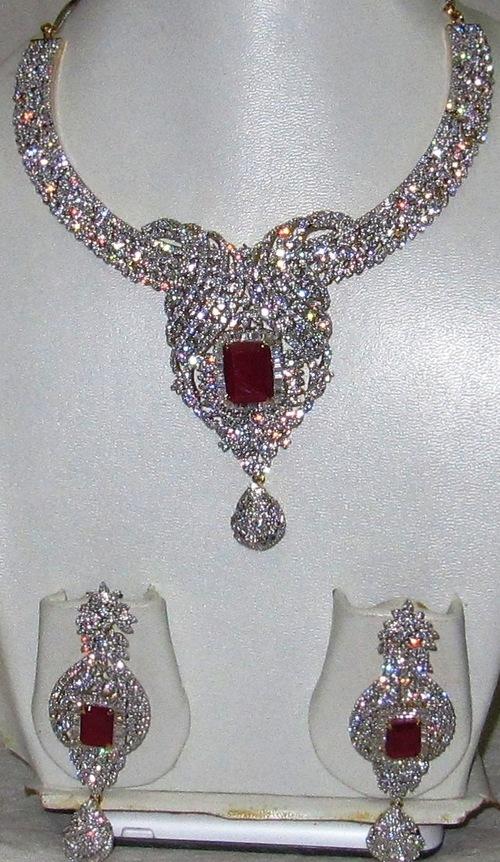 Bridal Heavy Necklace Set