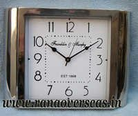 New Look New Design Metal Clock in 15 x 11 Inches.