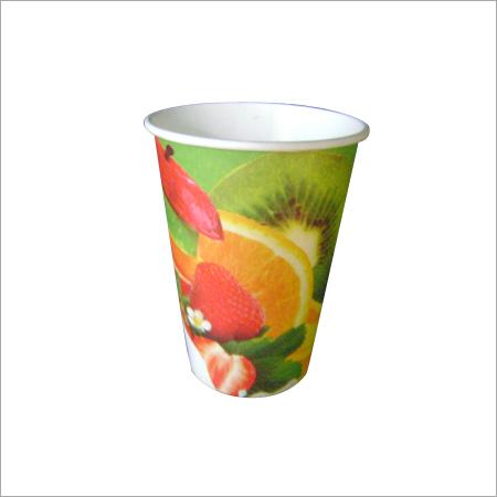 Printed Paper Juice Cup