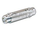 XLR 3 Pin Mic Ext. Female to XLR 3 Pin Mic Ext. Female Adapter