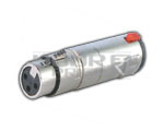 3 Pin  XLR to TRS Adaptor Lock Type