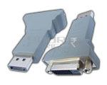 Display Port Male to DVI Female 24+1 PIN Adaptor