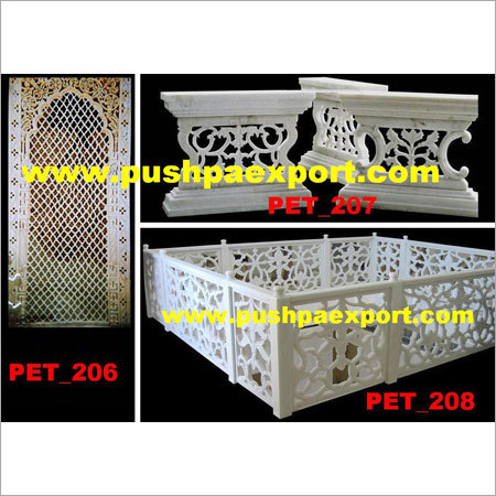 Marble Stone Carved Partition