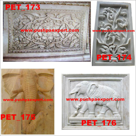 Marble Stone Carved Wall Panel