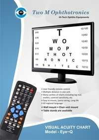 Visual Acuity Testing Chart