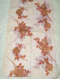 Cotton Printed Embroidered Scarves