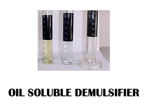 Oil Soluble Demulsifier