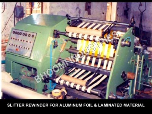 Fabric Slitter Rewinder Machine