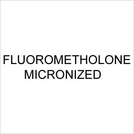 Fluorometholone Micronized
