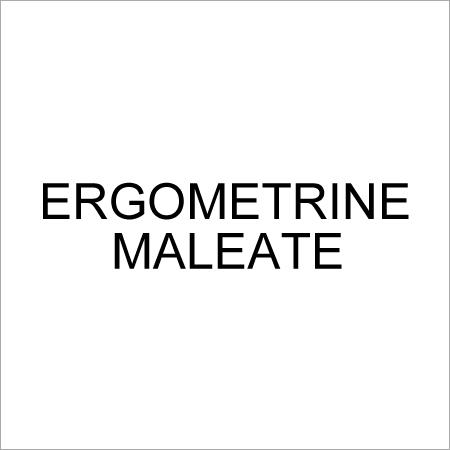 Ergometrine Maleate