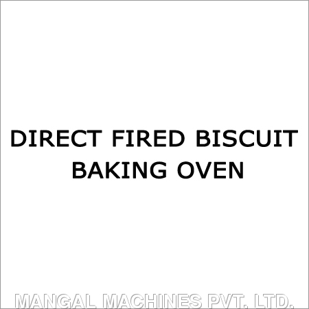 Direct Fired Biscuit Baking Oven