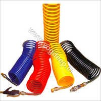 Coiled Hoses In Nylon & Polyurethane