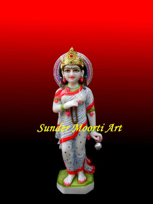 Marble Brahmacharini Maa Statue