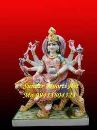 Marble Kushmanda Maa Statue
