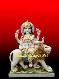 Marble Skanda Mata Statue