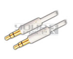 EP Stereo Male 3.5mm to EP Stereo Male 3.5mm for iPhone / iPod - 1.5 Meters