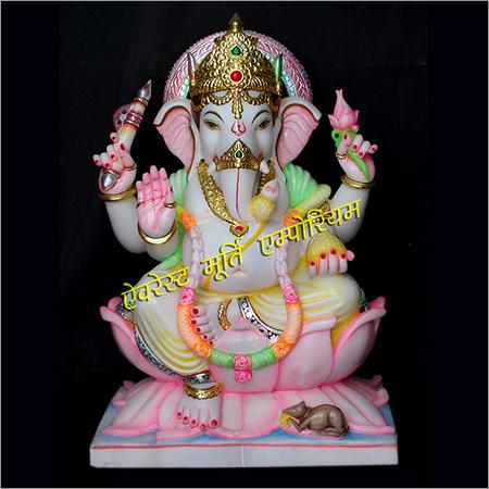 Gajanand Marble Statue