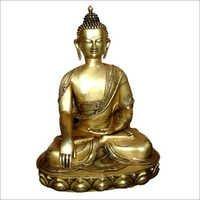 Brass Buddha Sculpture