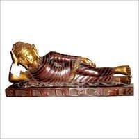 Reclining Buddha Religious Statue