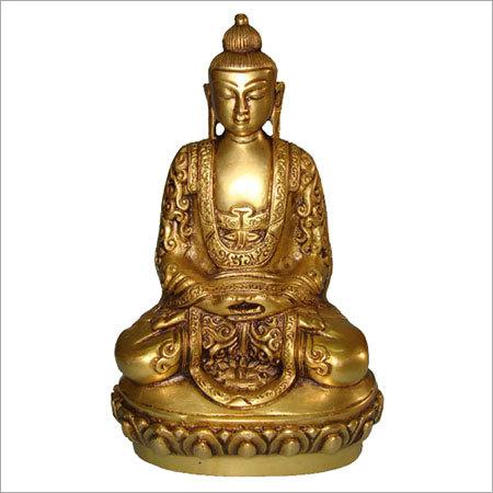 Thai Brass Buddha Statue