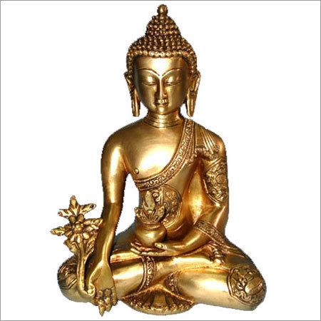Crafted Meditating Buddha