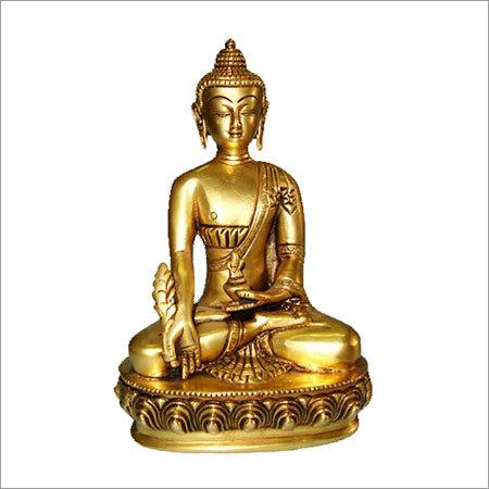 Smiling Buddha Sitting Statues