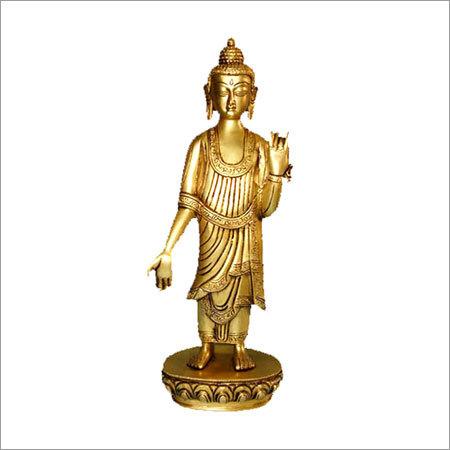 Standing Buddha Oval Base