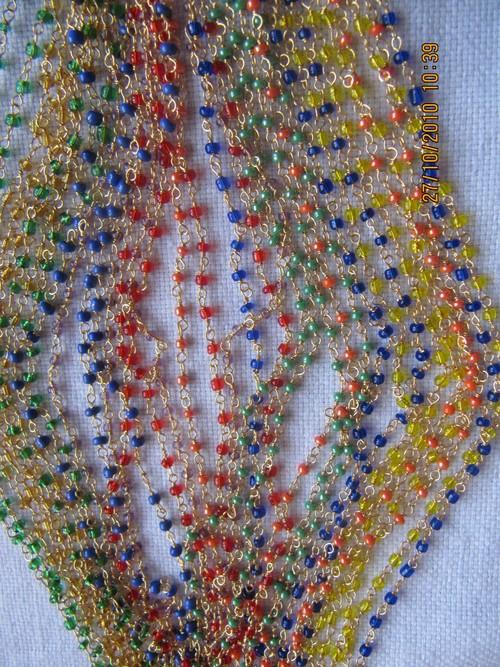 Multi Color Stone Beads Chain