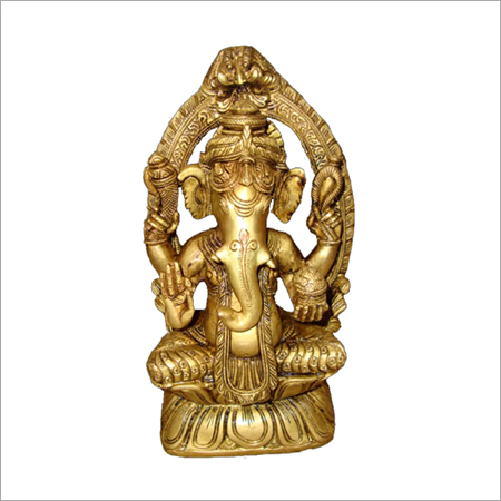 Ganesha Seated on Chowki
