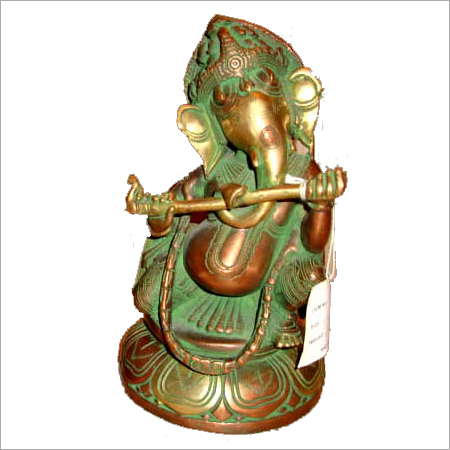 Bronze Ganesh Murti