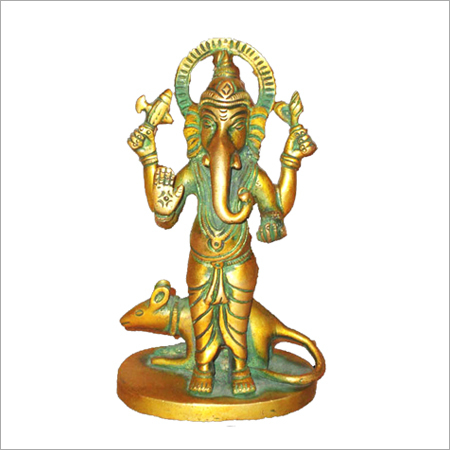 Jade Ganesha Statue