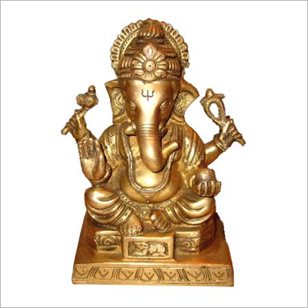 Brass Ganesh Idols