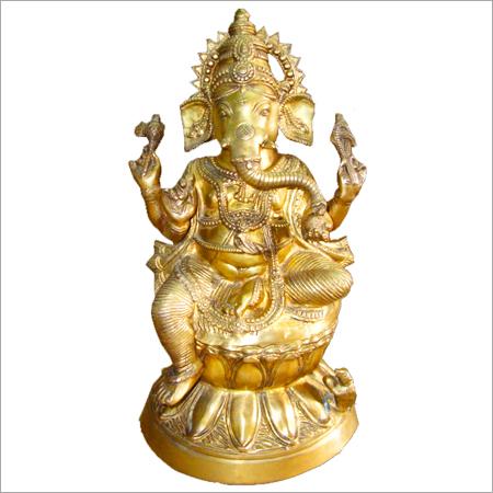 Brass Idols Hindu Gods