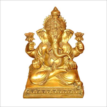 Copper Ganesha Statues