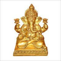 Copper Ganesha Statues