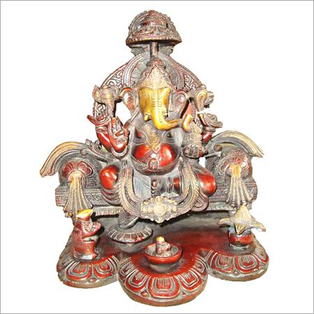 Stone Ganesh Statue