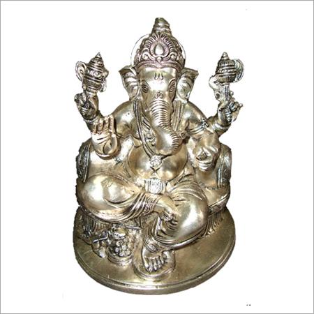 Silver Ganpati Statues