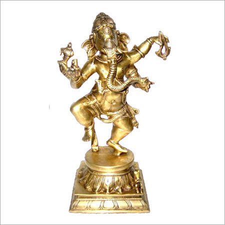 God Lord Brass Ganesh