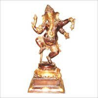 Bal Brass Ganesh Dancing