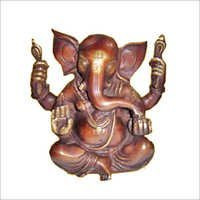 Copper Ganesha Moorti
