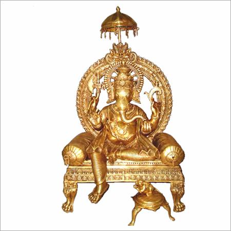 King Ganesha Statues