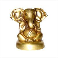 Adorable Brass Shree Ganesh