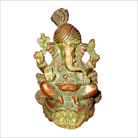 Copper Ganpati Idols