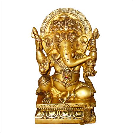 Bal Ganpati Brass Statues