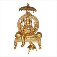 Hindu Lord Ganesha on Throne
