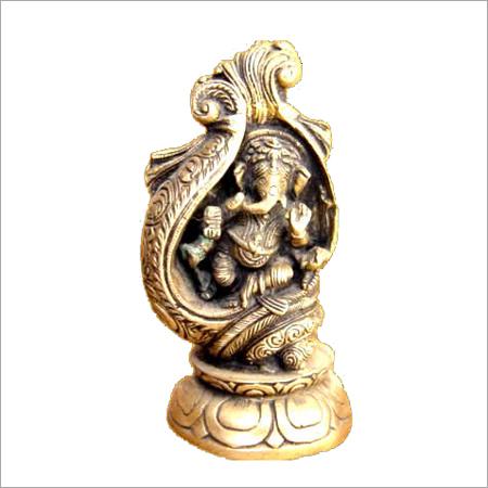 Ganesh in Sankha Statue