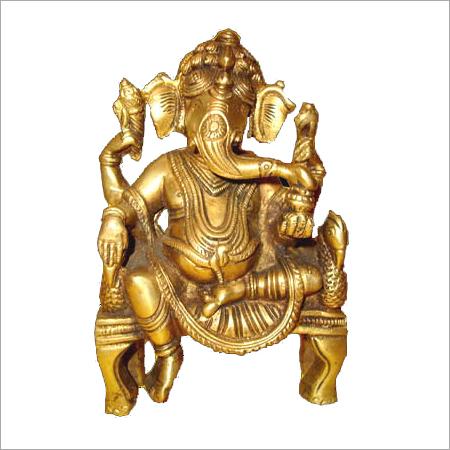 Brass Handicrafted Ganesha Statues