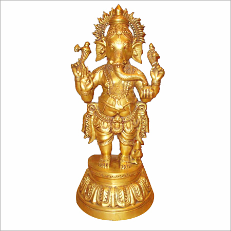 Ganesh Brass Statue Gift