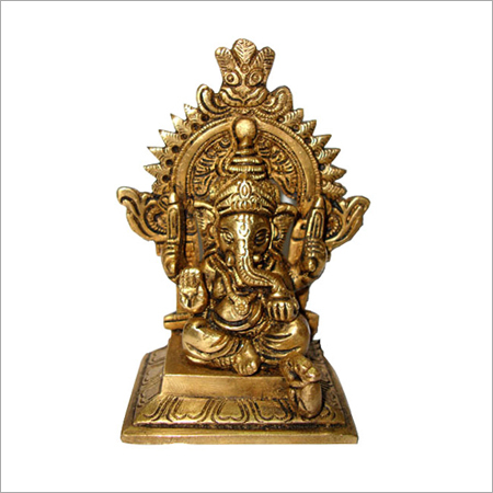 Small Brass Ganesh Handicrafts