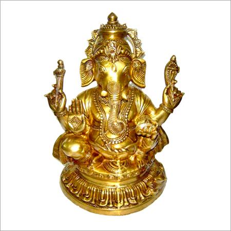 Shining God Ganesh Statues